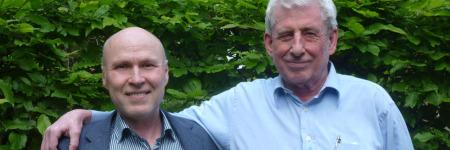 Werner Fink und Gundolf Reichelt Vorstandsvorsitzende BFE
