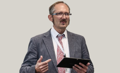 iBFE Vorstandsvorsitzender Thomas Ahrens Trainalytics